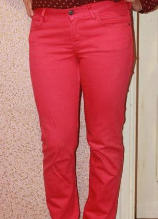 Малиновые джинсы