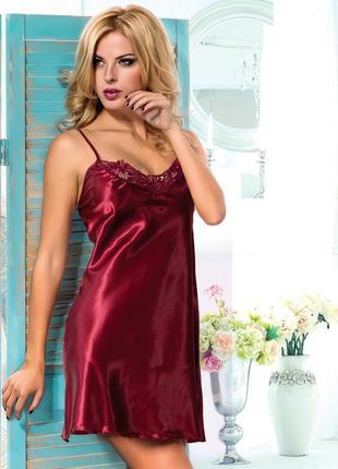 Сорочка женская с гипюром