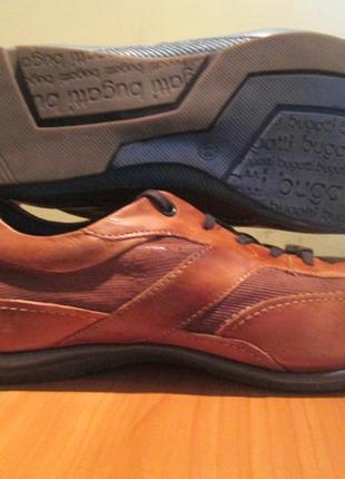 Туфли bugatti р.44.натур.кожа.оригинал(легкое б/у)