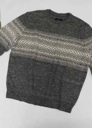 Мужской красивый свитер, джемпер с содержание шерсти canda c&a размер 3xl, на 54-56 наш