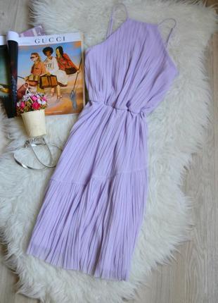 Новое лавандовое платье miss selfridge
