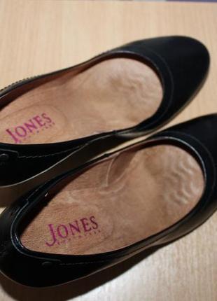 Кожаные туфли jones bootmaker р 39 по стельке 25,5 см