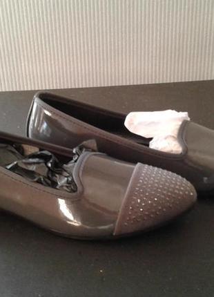 Туфли балерины натуральная кожа