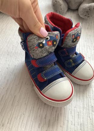Next высокие кеды -ботинки 5 размера , 21, 5 - 22 размер1