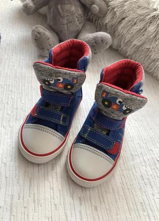 Next высокие кеды -ботинки 5 размера , 21, 5 - 22 размер2