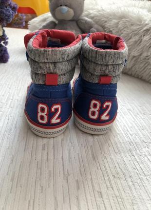 Next высокие кеды -ботинки 5 размера , 21, 5 - 22 размер4