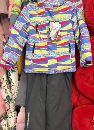 Зимний термокостюм от бренда hich.китай. остался только рост 104см