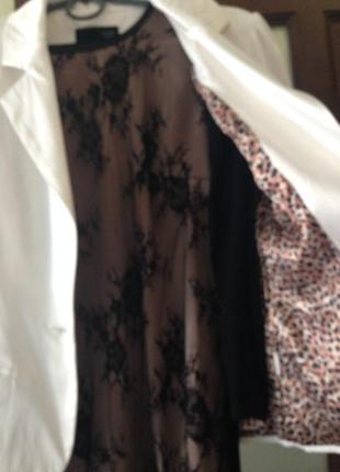 Пиджак женский белый размер 42-44