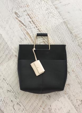 Классическая сумка zara