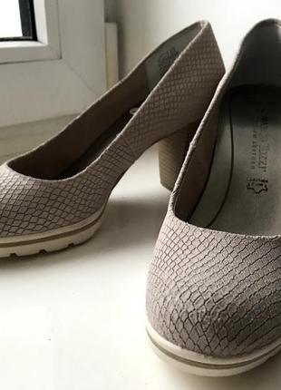 Новые кожаные туфли 37 р