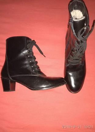 Очень теплые ботиночки  26 см
