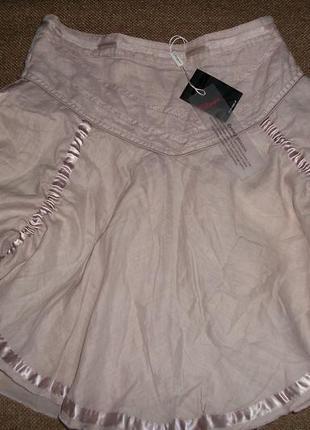 Люксовая юбка пудрового цвета от styles