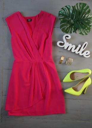 Яркое базовое платье №451