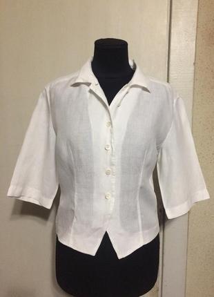 Льняная рубашка max mara cruis
