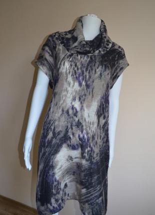 Большая распродажа до 70% ! 09 - 11.11.18 платье-туника  в составе альпака и шерсть