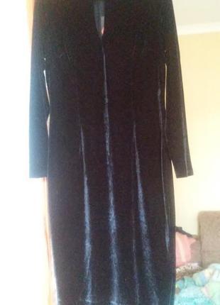 Шикарное бархатное платье by very