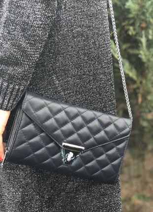 Удобная сумочка-клатч из натуральной кожи. производство италия 🇮🇹