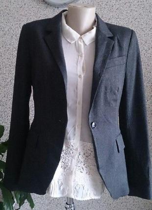Шикарный статусный пиджак жакет блейзер zara