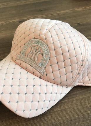 Стильные и качественные кепки/бейсболки цвет пудра весна/осень распродажа остатков!