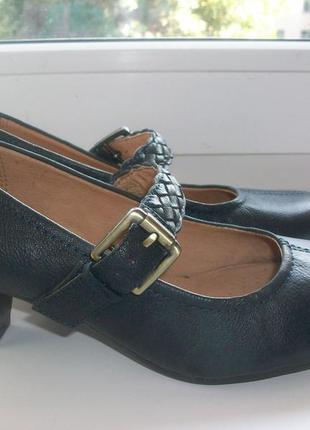 Туфли женские натуральная кожа clarks р.36