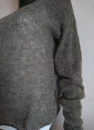 Супер нежный свитер накидка3 фото