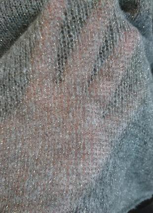 Супер нежный свитер накидка5 фото