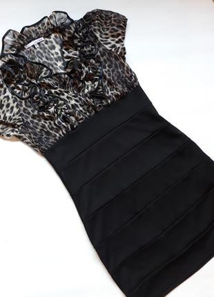 Силуэтное платье хит сезона