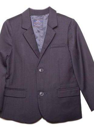 Новый классический синий пиджак, zara, 6174