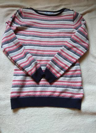 Теплый осенний свитер
