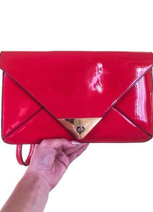 Невероятно стильная лаковая сумочка lovedream 😍♥️