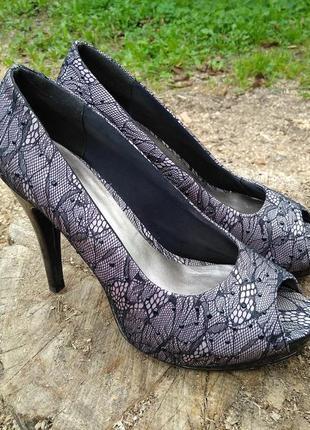 Туфлі, туфли, graceland 39 гипюр