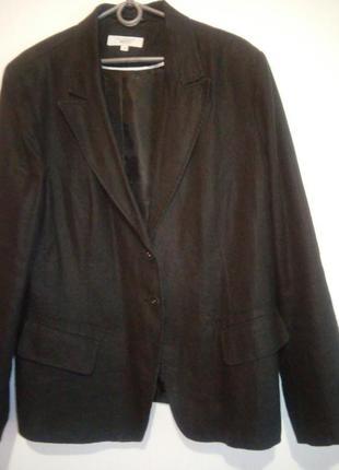 Стильный льняной пиджачек 18роз.