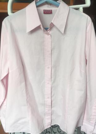 Розовая футболка biaggini