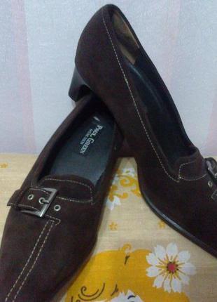 Туфли натуральная кожа (австрия) 38р-р