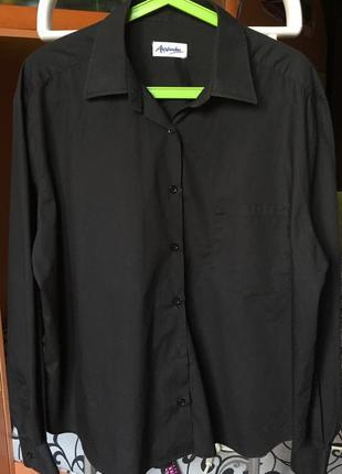 Чёрная рубашка alexandra