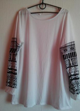 Оригинальная футболка с длинным рукавом 10/12 роз.