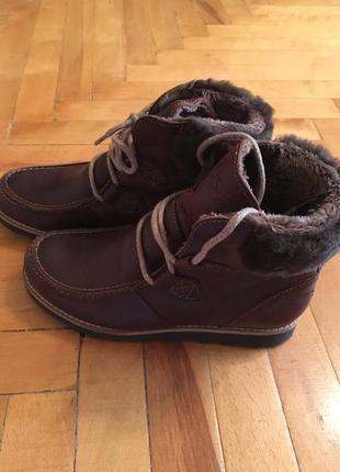 Кожаные зимние ботинки tbs 36