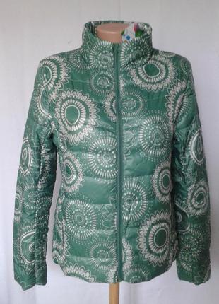 Куртка легкая демисезонная desigual, размер 40/42