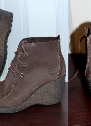 Шикарные ботинки timberland оригинал. р.39 (us 8.5 м)