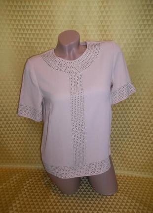 Женская шифоновая футболка h&m.