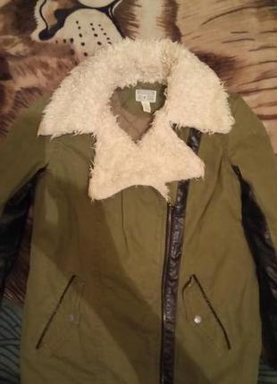 Куртка-парка-косуха утепленная converse