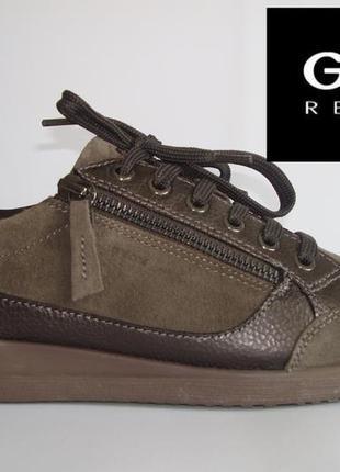 Кросівки шкіряні жіночі geox