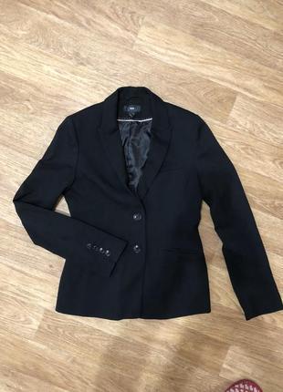 Пиджак приталенный от h&m