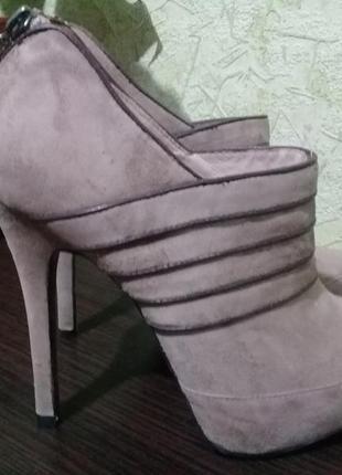 Осенние туфли ботинки 38 р.