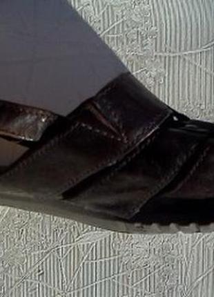 Босоножки gabor р.5 1/2 (38) португалия натуральная кожа