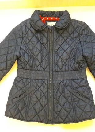 Осенняя  куртка next 7-8 лет  128 см для девочки