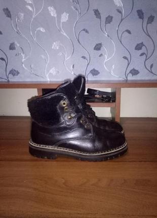 Кожаные зимние ботинки nordman