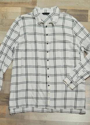 Рубашка клетка new look