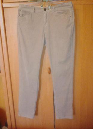 Вельветовые джинсы 48-50р.