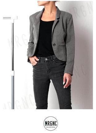 Укороченный пиджак/жакет h&m